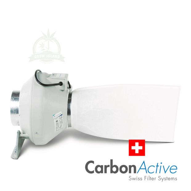 CarbonActive Pollen Sock 125mm, max. 600m³/h