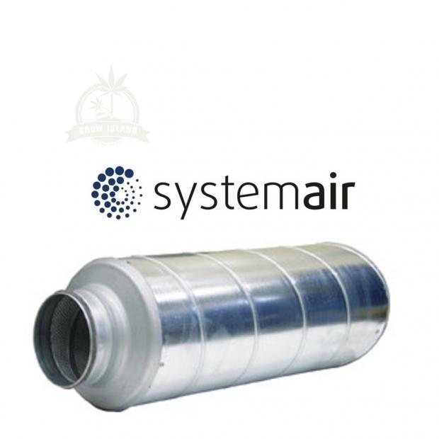Systemair Schalldämmer 125mm