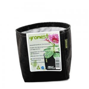 Gronest Stofftopf umweltfreundliche Pflanztaschen aus Geotextil 4l