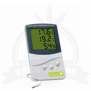 Garden HighPro Thermo Hygrometer Medium