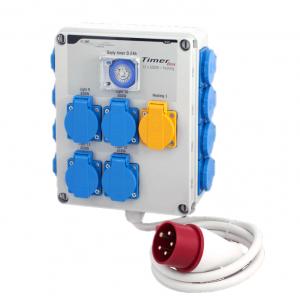 GSE Timer Box III 12x600W und Heizung 2000W 400V