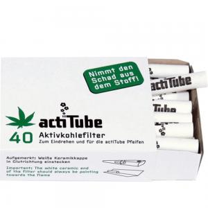 actiTube Aktivkohle Filter Packung 40Stk
