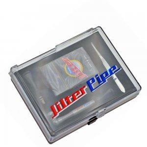 Jilter Alupfeife im Case, inkl. 1 Packung Jilter & Zubehör