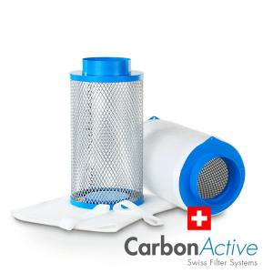 CarbonActive HomeLine Vorfilter Ersatzfilter für Standard und Granulat 125mm / 200m³/h