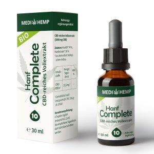 Medihemp Bio Hanf Complete cbd öl 30 ml