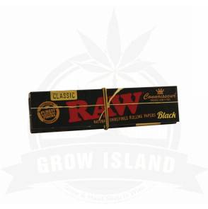 raw_black_connoisseur_slim_papier_papers_papir_grow_island_growshop_wien